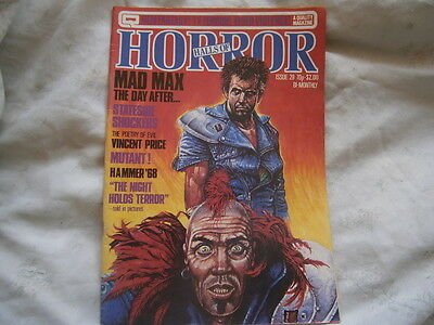 - Halls of Horror - MAD MAX issue 29