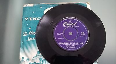 """FRANK SINATRA:You'll always be the one I love 45-CL 15168 7"""" single 45rpm vinyl"""
