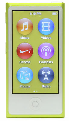 Boxed Apple iPod nano 7th Generation Yellow (16GB)