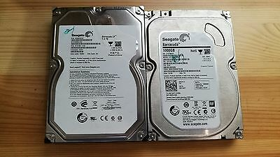 """lot 2 disques dur 1 To et 1.5 To 3.5"""""""