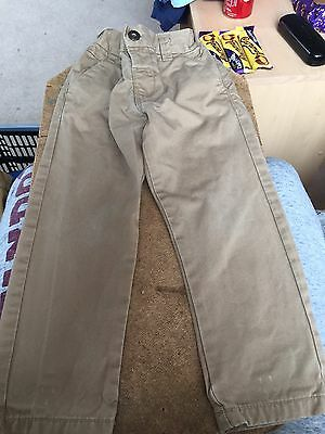 Tan Trousers Next Boys Aged 2-3 Years