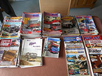 Various classic and vintage commercial magazines