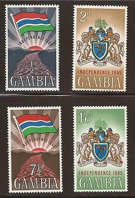 GAMBIA - 1965 - SG211/4 - Independence Set - MNH - (JB429)