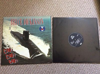 "Iron Maiden-Bruce Dickinson-dive Dive-12"" Giant Poster Sleeve Disc-limited-metal"