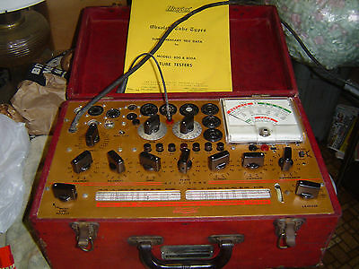 HICKOK Model 800A Micromho Mutual Conductance Tube Tester Working Condition