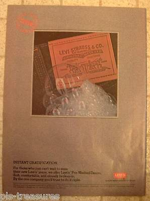 1982 Levi's / Cinemax Movies to Cable TV AD