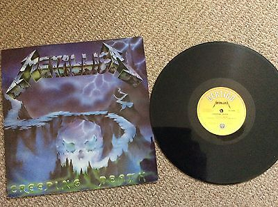 """Metallica-creeping Death- 12"""" Picture Pic Cover Disc-limited-slayer-megadeth"""