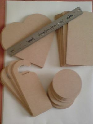Stamps Away Wooden Elements MDF Shapes Assorted New x 20.