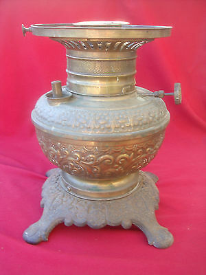 Antique Brass Oil Stove  A Rare 19Th Century Victorian Stove  See Pictures