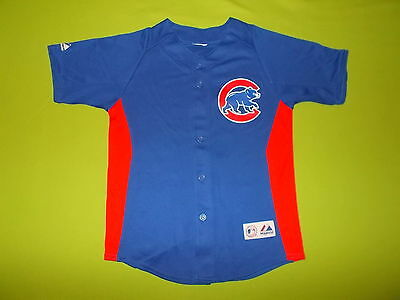 Jersey CHICAGO CUBS (8/10 years) (Youth S) MAJESTIC #13 S. CASTRO PERFECT !! MLB