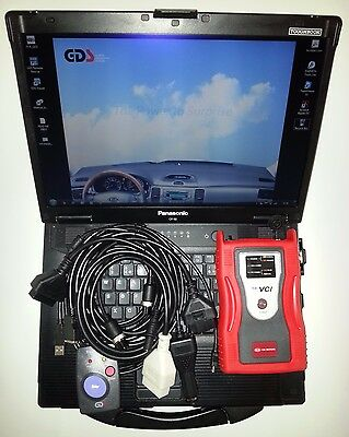 Hyundai + Kia GDS VCI - 2.26 Firmware - ECU Upgrade -LATEST - Toughbook CF52 6GB