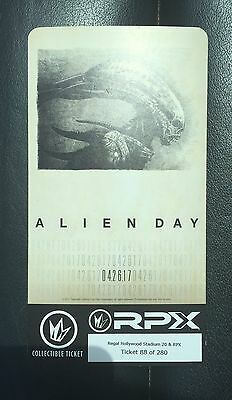 Alien Day Covenant RPX Collectible Movie Ticket