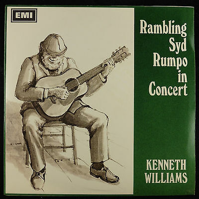 "7"" 45 single Kenneth Williams Rambling Syd Rumpo in Concert EP EX+/NMint"