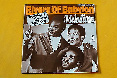 """Rivers of Babylon MELODIANS Original Jamaican Recording 7"""" Stereo"""