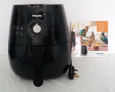 Philips Black Air Fryer HD9220 with Recipe Book RRP £149.99