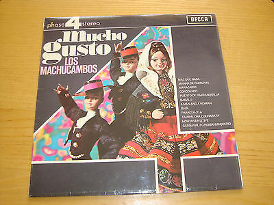 LOS MACHUCAMBOS - MUCHO GUSTO - LP 1968 DECCA Phase4Stereo *NM