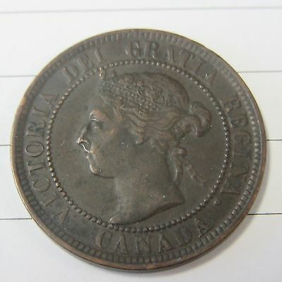 1900 H  Large Cent Canada Coin