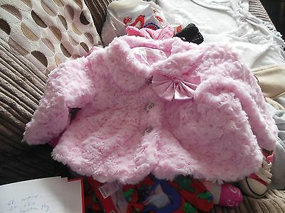 baby jacket age 3-6 months very soft and fluffy