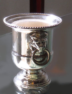 Viners Sheffield Silver Plated Cocktail Stick Holder-Urn Form **