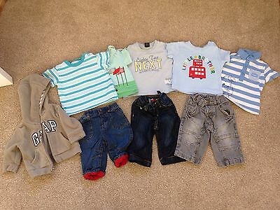 Bundle Of 3-6 Month Baby Boy Clothes From Gap, Next, Debenhams, M&S, George