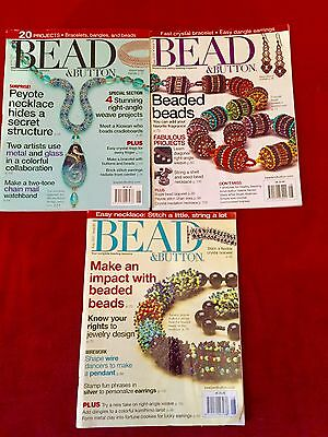 Back Issues Of Bead & Button Magazines