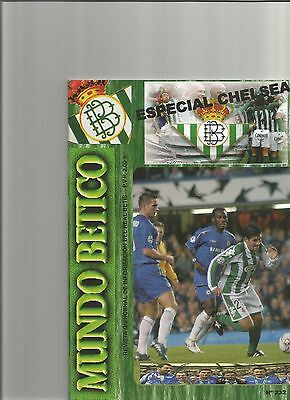Real Betis V Chelsea   Champions League  2005/6
