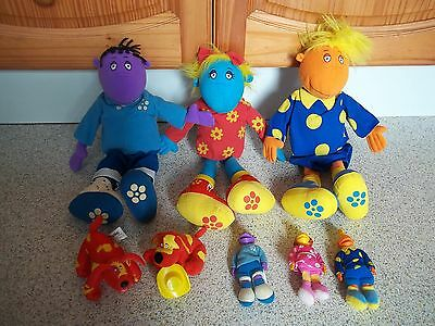 Tweenies Bundle ~ 3 Different Large Soft Toys + 5 Different Small Soft Toys