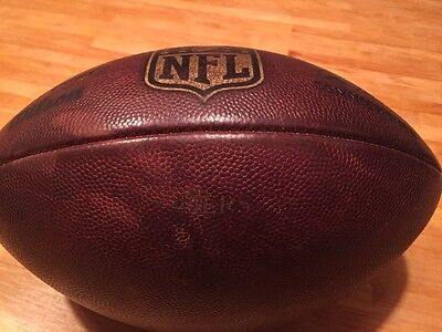 RARE San Francisco 49ers Game/Practice Used NFL Football - Lots Of Use!!!