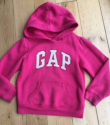 Girls Pink Gap Jacket Hoodie Size: 5 Years