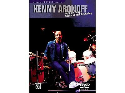 Alfred Kenny Aronoff Laying Down Basics Rock Drum DVD
