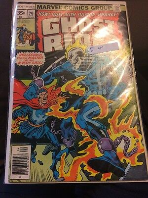 Marvel Comics Ghost Rider #29 1977 Now! Duel with Doctor Strange!