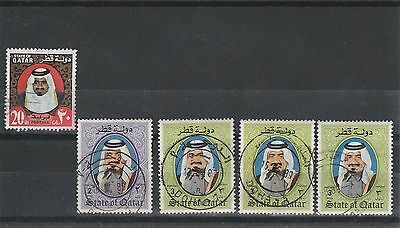 Qatar - Assorted Stamps - Fine Used
