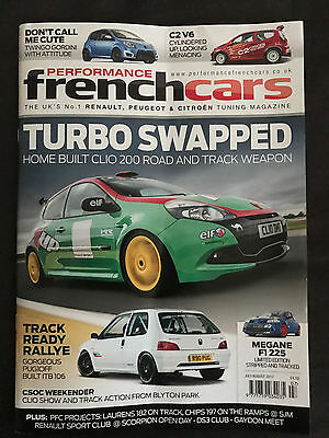 French Performace Car Magazine July/August 2017