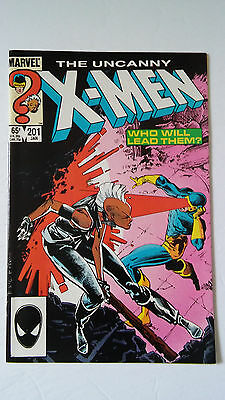 The Uncanny X-Men #201 (Jan 1986, Marvel)