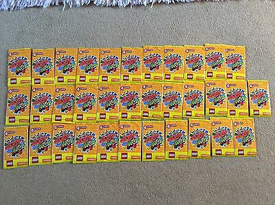 34 New Sealed Packs Of Lego Create The World Trading Cards Sainsbury's
