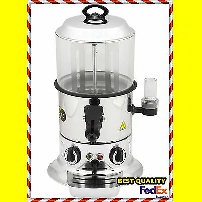 Commercial Drinking Chocolate Machine Hot Beverage Dispenser Stainless Steel 5L