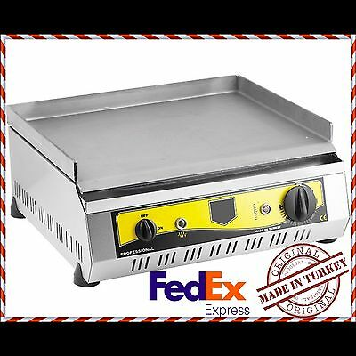 ELECTRIC Commercial Flat Top Restaurant Grill Countertop Equipment Griddle 50 CM