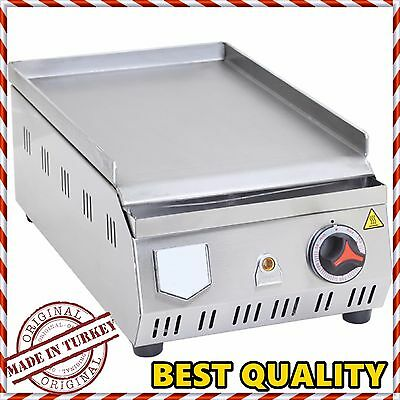 ELECTRIC Commercial Flat Top Restaurant Grill Countertop Equipment Griddle 30 CM
