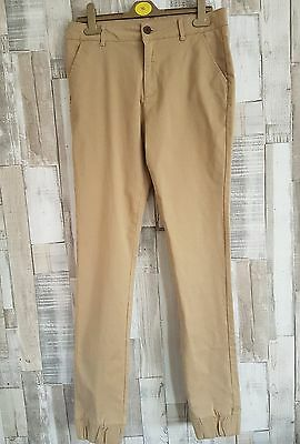 la redoute boys chinos cotton trousers age 16 years beige color nbw