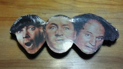the Three Stooges desk ornament Moe .Larry and Curly.
