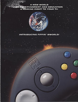 """Vintage (1996) Brochure: Bandai Pippin """"a New World Of Entertainment/education Q"""