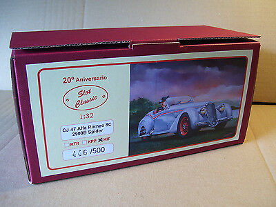 "SLOT CLASSIC CJ-47 Alfa Romeo ""8C 2900B Spider"" 1:32 RARE UNBUILT KIT SOLD OUT!"