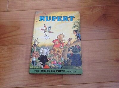 Rupert The Daily Express Annual 1972