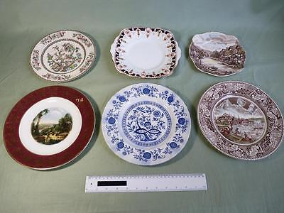 A Variety of Decorative Plates, 6 in all. Including Wedgwood (0047-CC)