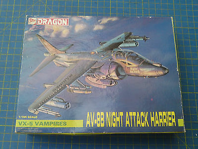 AV-8B Harrier, 1/144 model kit, Dragon, see notes