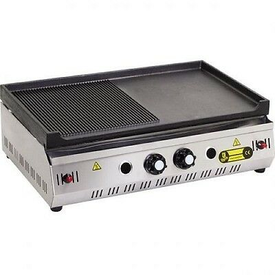 PROPAN GAS Commercial Flat Top Restaurant Griddle Countertop Propane Grill 70 CM