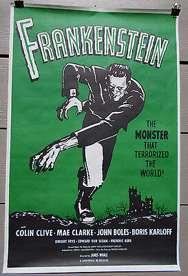 Frankenstein Orig R60's *rolled* Unused Mint Cond One-Sheet
