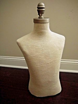 VTG boys form MANNEQUIN torso kids youth clothing COUNTER TABLE TOP display