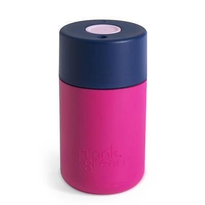 FRANK GREEN Smart Coffee Cup 340ml  - Hot Pink/Navy/Pink Blush