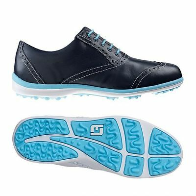Brand New In Box FootJoy Casual Spikeless Navy Women's Golf Shoe 97708